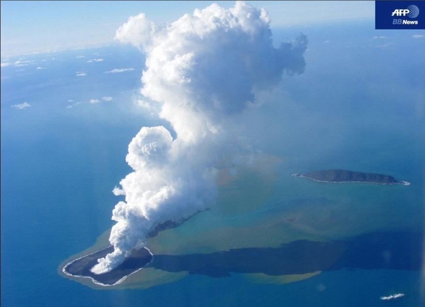 トンガで海底火山噴火   ダイビングと海の総合サイト・オー ...